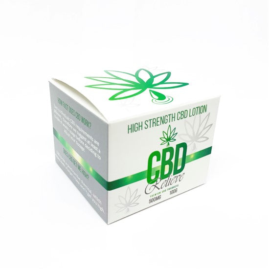 CBD Relieve | 100g Body Lotion - 500mg