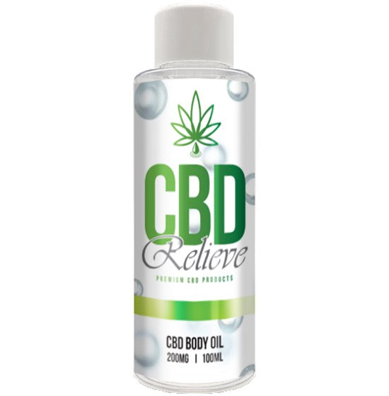 CBD Relieve | 100ml Body Oil – 200mg
