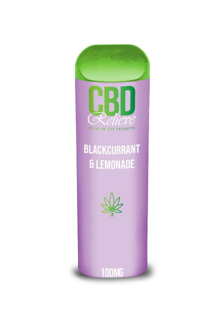 BOGOF SPECIAL | Disposable CBD Vape Pod - Blackcurrant & Lemonade 100mg