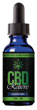 Load image into Gallery viewer, BOGOF SPECIAL: CBD Relieve | 15ml Blueberry Burst E-Liquid - 100mg