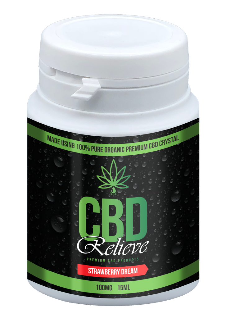 BOGOF SPECIAL: CBD Relieve | 15ml Strawberry Dream E-Liquid - 100mg