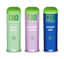 Load image into Gallery viewer, 2ml CBD Relieve Disposable Vape Pod - Cool Ice Menthol 100mg