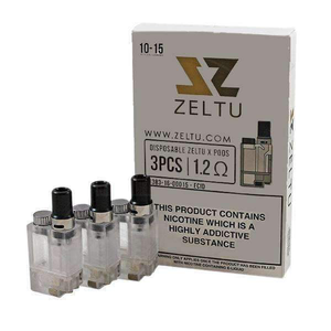 2ml Zeltu X Pods 1.2ohm - Pack of 3