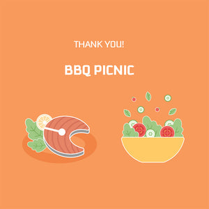 THANK YOU! BBQ Picnic