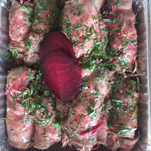 Roast Chicken or Beef Roulade