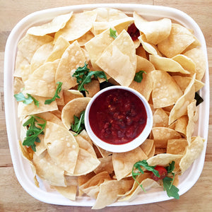 Corn Chips with Salsa