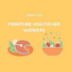 BIG THANK YOU! Frontline Healthcare Workers Family Meals