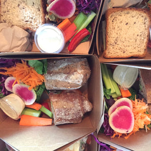 Sandwich and Salad Box - each
