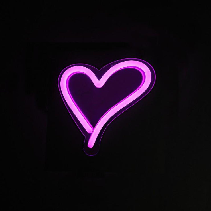 It's a Little Neon Love Topper