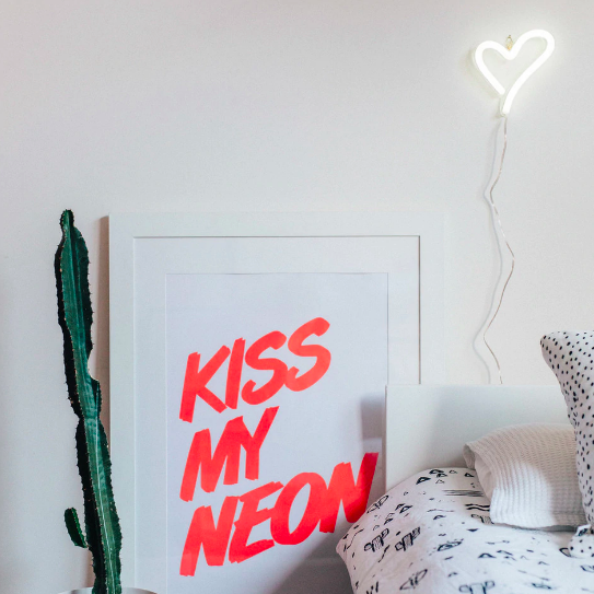 It's a Little Neon Love