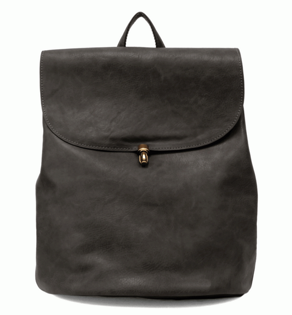 Black Colette Joy Backpack Purse