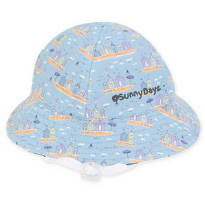 Beach Huts Infant Hat