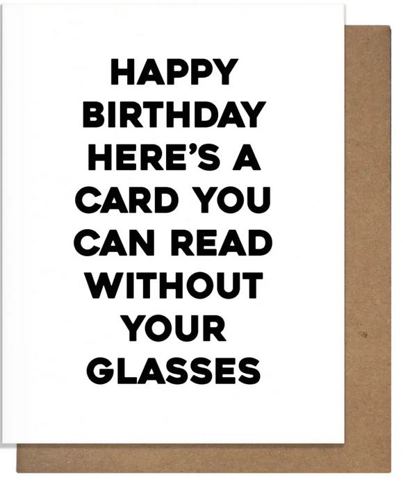 Birthday Read Card