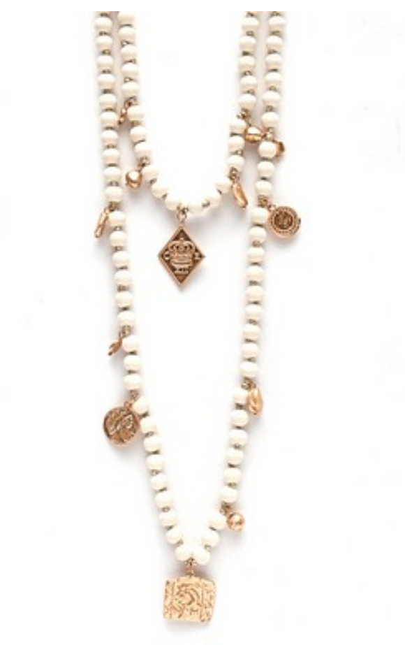 Carter Cream Necklace