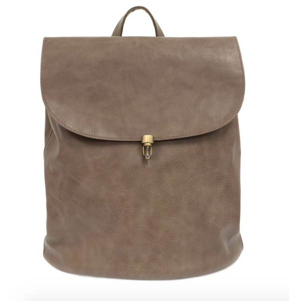 Dark Taupe Colette Joy Backpack Purse