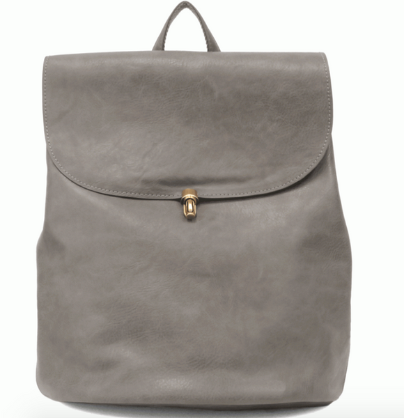Charcoal Colette Joy Backpack Purse
