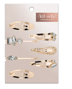 Kitsch Snap Clips 7pc Set