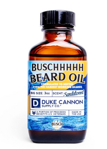 Busch Beard Oil by Duke Cannon