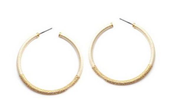 Rori Natural Hoops