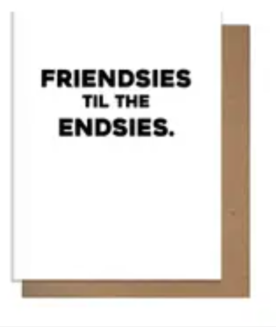 Friendsies Card