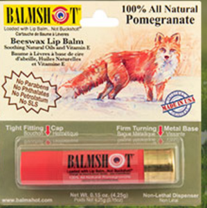 Balmshot Lip Balm Pomegranate