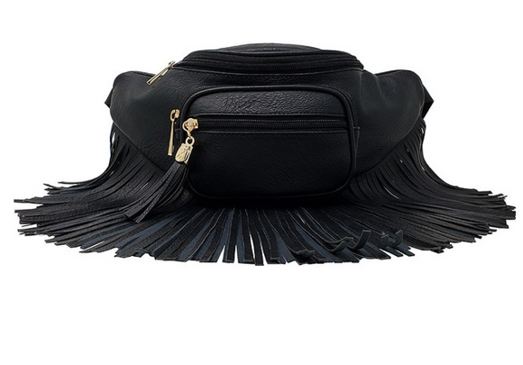 The Toni Fringe Waste Purse