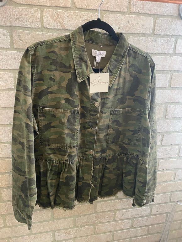 Mud Pie Camo Jacket