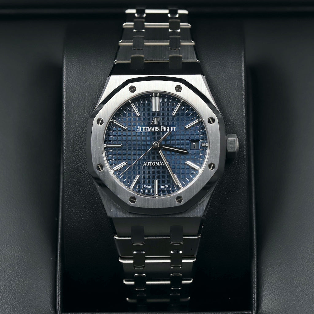 Audemars Piguet 15450ST Royal Oak Blue Dial