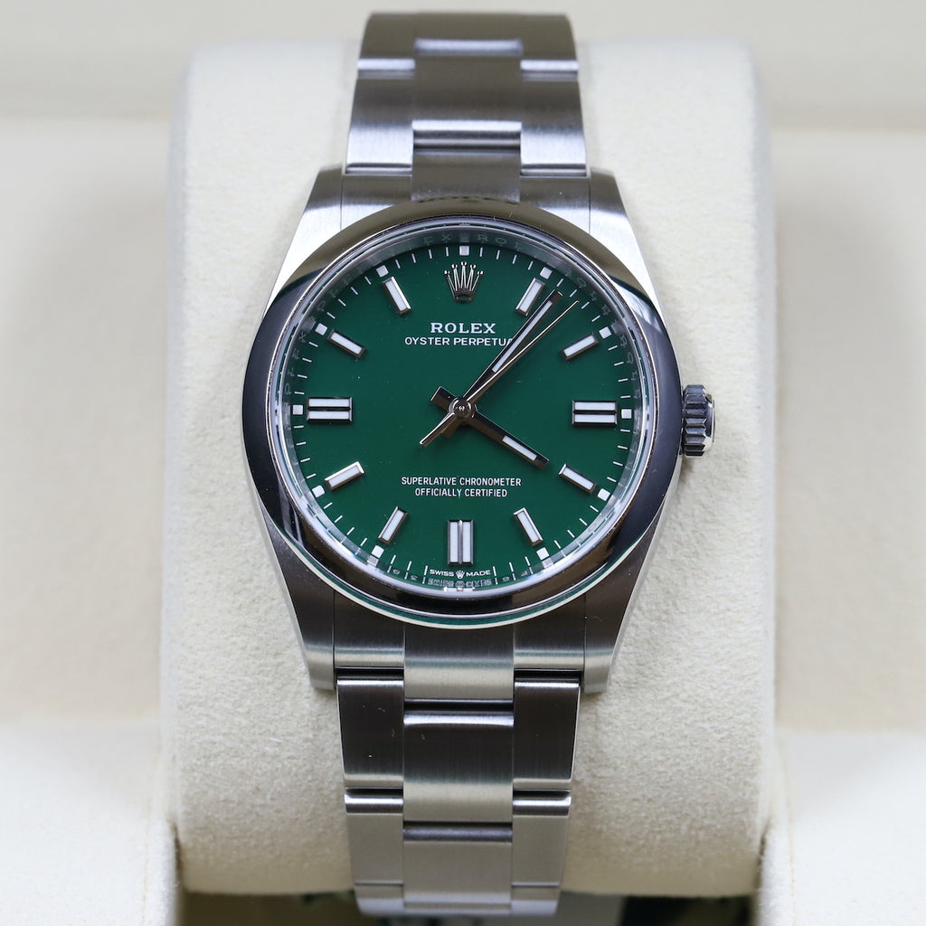 Rolex 126000 Oyster Perpetual 36mm Green Dial