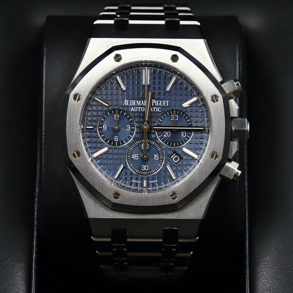 Audemars Piguet 26320ST Royal Oak Chronograph Blue Dial