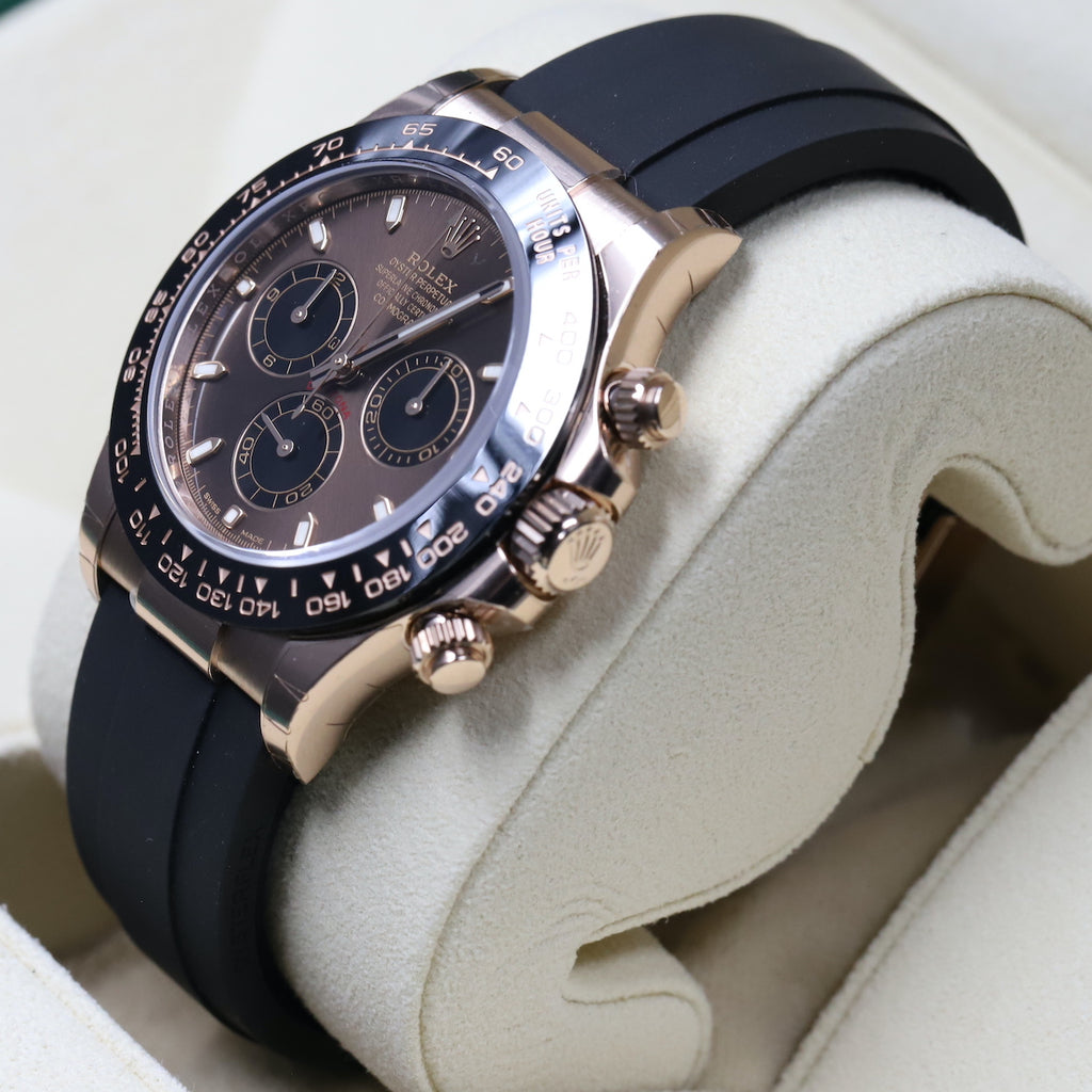 Rolex 116515LN Daytona Rose Gold Chocolate Dial