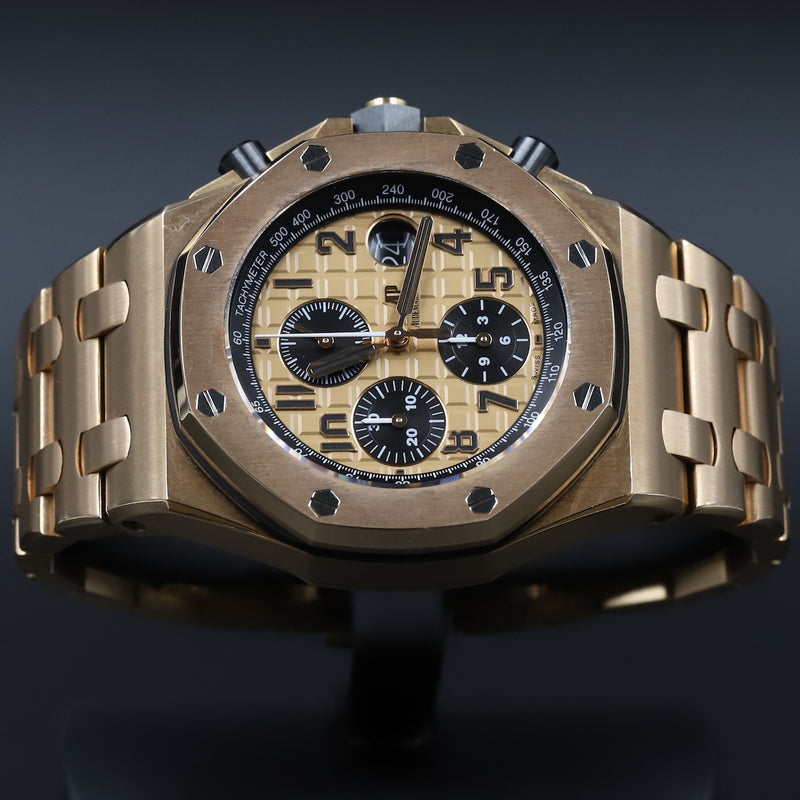 Audemars Piguet 15400ST Royal Oak Black Dial
