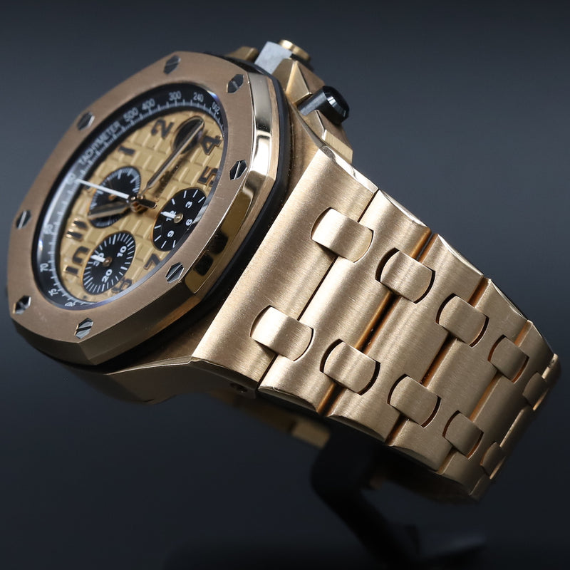 Audemars Piguet 26470OR Royal Oak Offshore 'Brick' Pink Dial