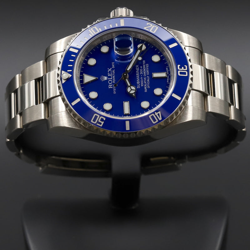 Rolex 116619LB Submariner 'Smurf'
