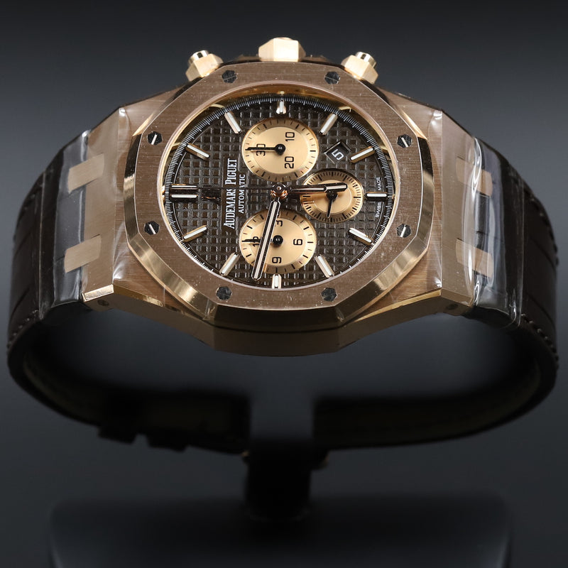 Audemars Piguet 26331OR Royal Oak Chronograph Chocolate Dial