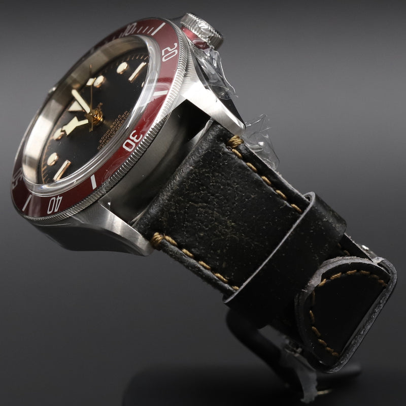 Tudor 79230R Black Bay Red Shield