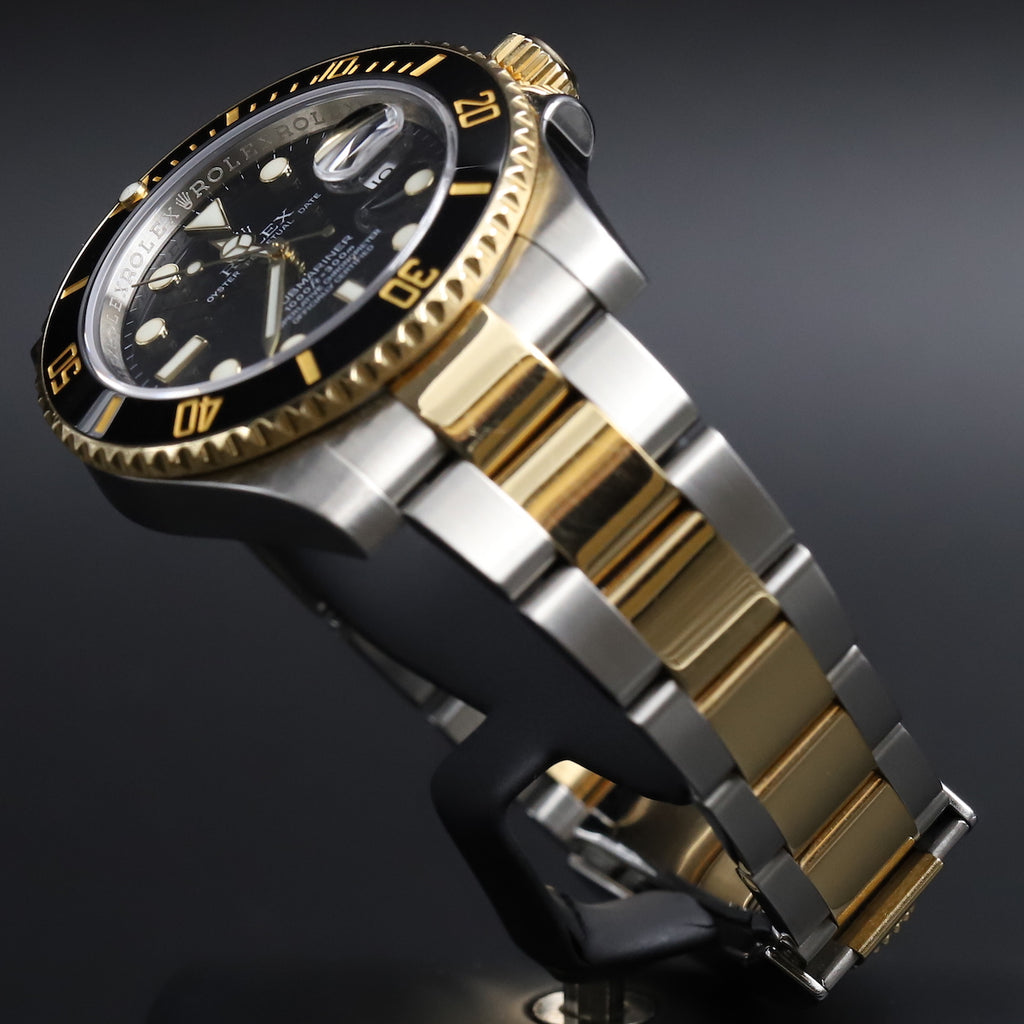 Rolex 116613LN Submariner SS/18k Black Dial