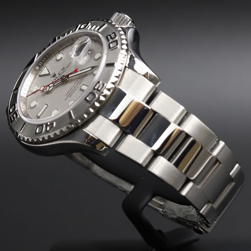 Rolex 16622 Yacht-Master Silver Dial