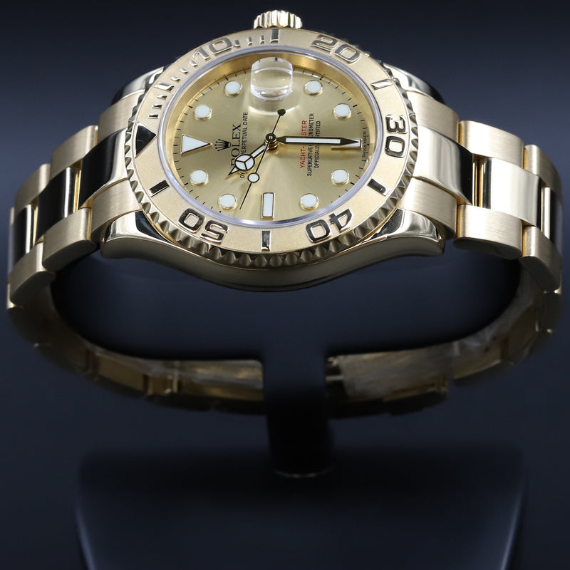 Rolex 16628 Yacht-Master Champagne Dial