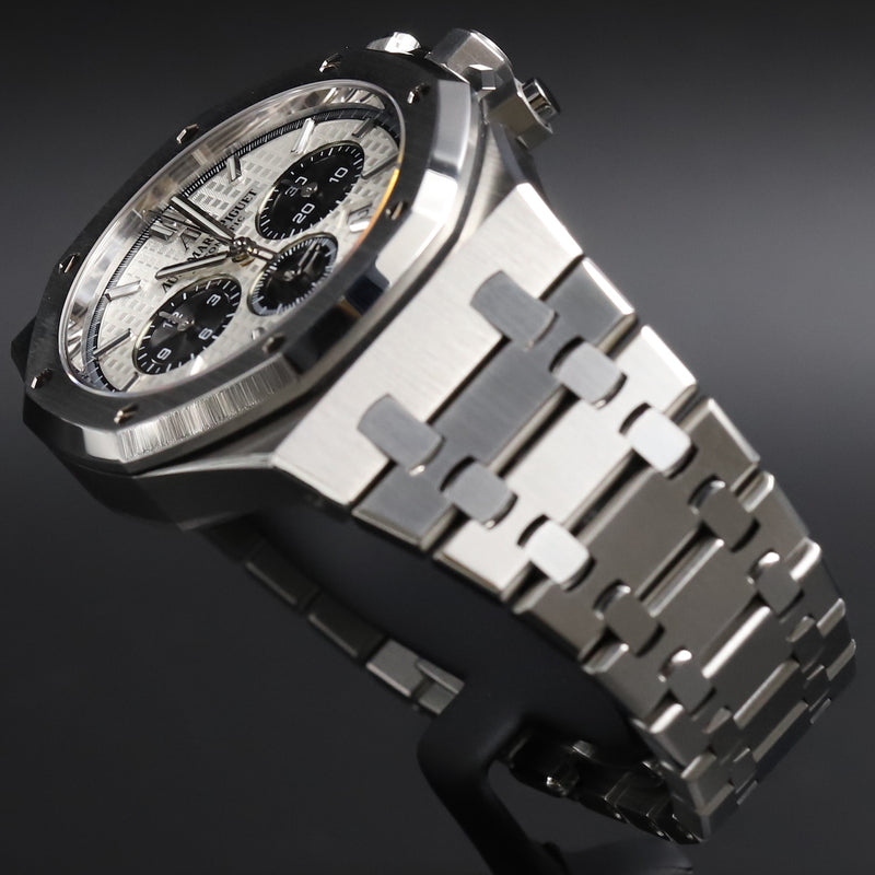 Audemars Piguet 26331ST Royal Oak Chronograph White Dial