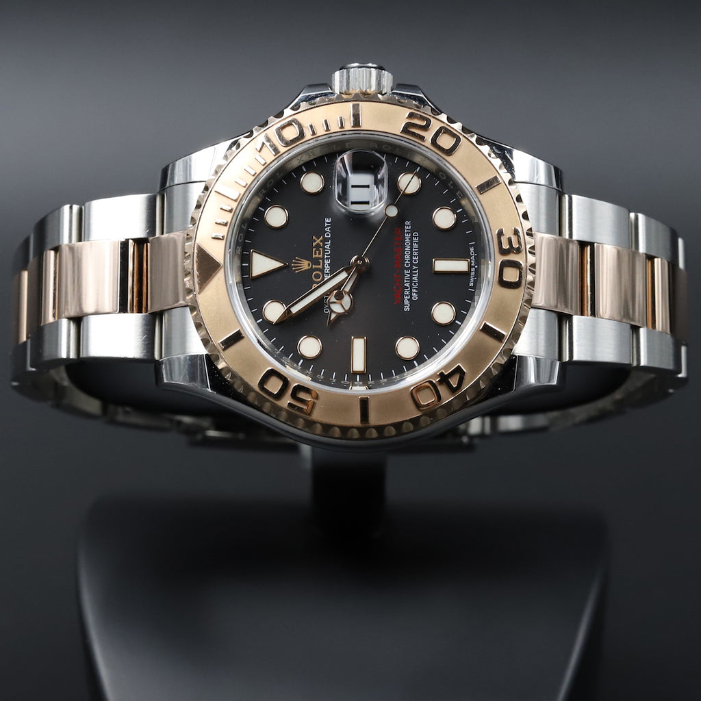Rolex 116621 Yacht-Master 40 SS/RG Black Dial