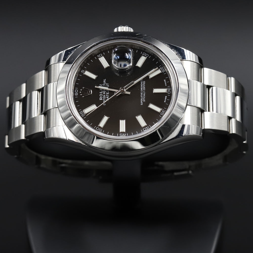 Rolex 116300 Datejust II Black Dial