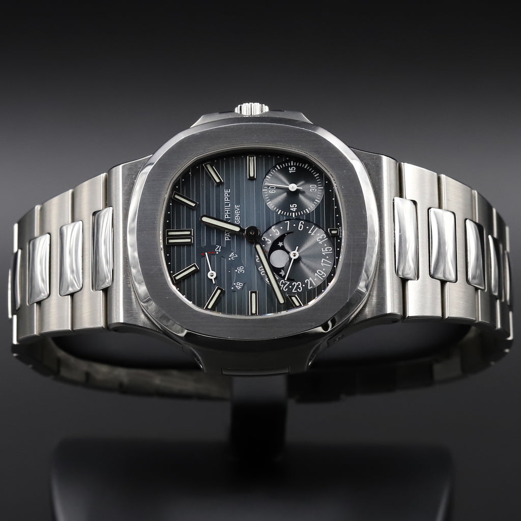 Patek Philippe 5712/1A Nautilus Date Moon Phases