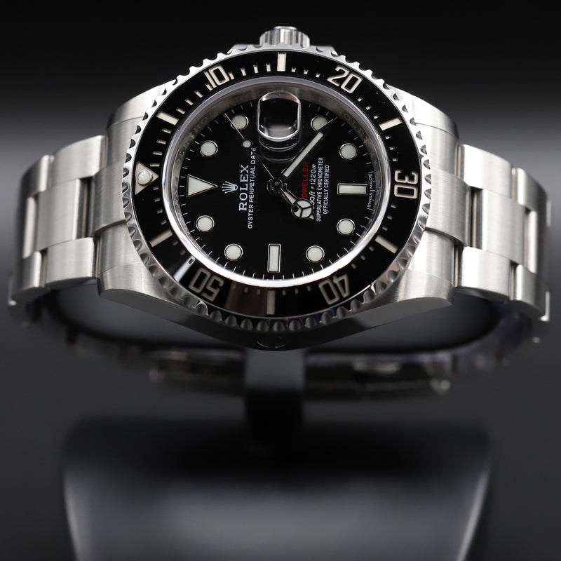 Rolex 126600 Sea-Dweller Red Writing