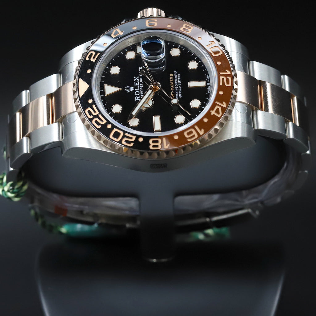 Rolex 126711CHNR GMT Master II SS/18k 'Root Beer'
