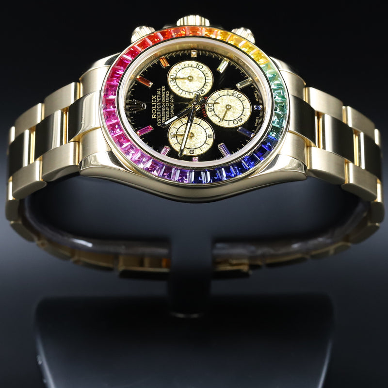 Rolex 116528 Daytona Custom Rainbow