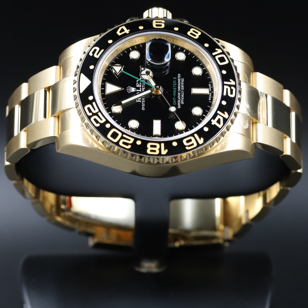 Rolex 116718 GMT Master II Black Dial