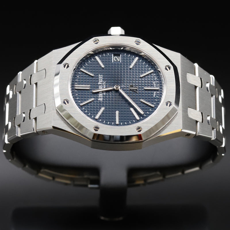 Audemars Piguet 15202ST Royal Oak Jumbo Blue Dial