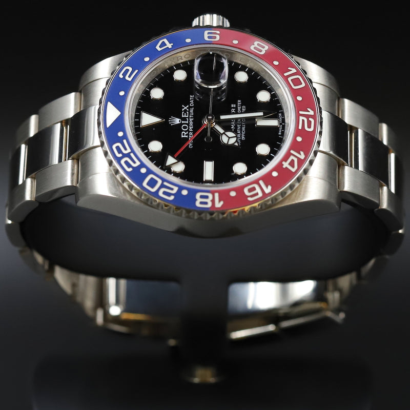 Rolex 16710 GMT Master II 'Coke' No Holes