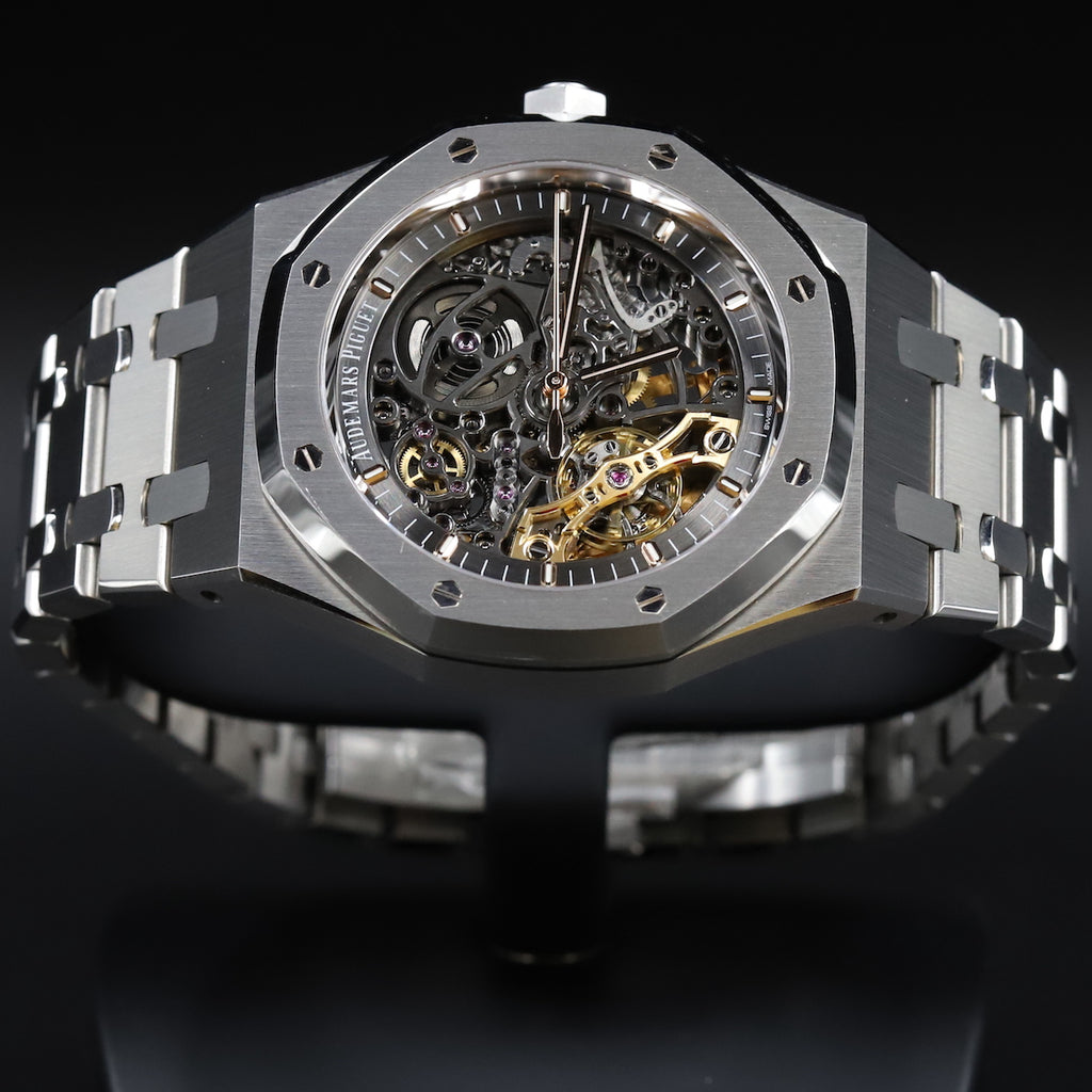 Audemars Piguet 15407ST Royal Oak Double Balance Wheel Openworked